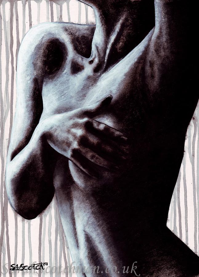 Sarah Scotchman Leila Domani Acrylic on Board 31 x 43cm